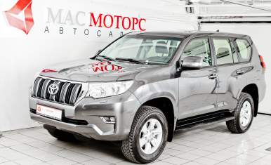 Toyota Land Cruiser Prado Серебро